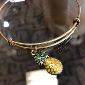 Pineapple Alex and ani bracelet